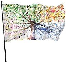 MOBEITI 3x5ft Banner dai colori vivaci e