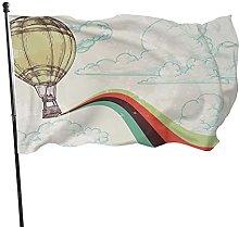 MOBEITI 3x5ft Banner in poliestere dai colori
