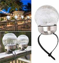 Mobestech - Lampada solare per esterni, per