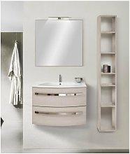 Mobile bagno con colonna linea circle 93 cm -