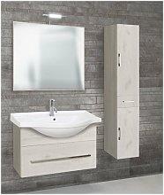 Mobile bagno con colonna linea light 85 cm -