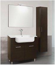Mobile bagno con colonna linea qubo 101 cm -