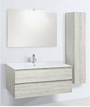 Mobile bagno con colonna linea slim 101 cm -