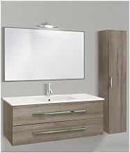 Mobile bagno con colonna linea slim 121 cm -