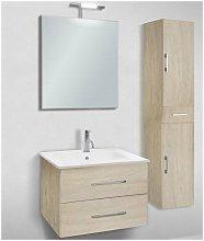 Mobile bagno con colonna linea slim 71 cm - global