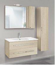 Mobile bagno con colonna linea slim 91 cm - global