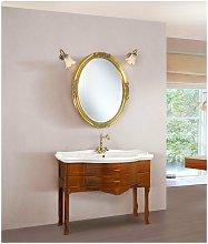 Mobile bagno con specchiera anticata linea