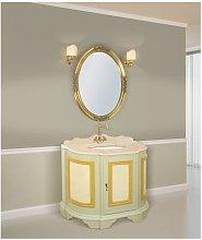 Mobile bagno decorato linea tintoretto 110x60 cm -