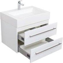 Mobile bagno Design 700 bianco lucido