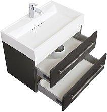 Mobile bagno Design 750 antracite satinato