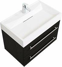Mobile bagno Design 750 antracite venato