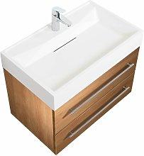 Mobile bagno Design 750 rovere chiaro