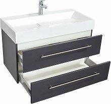 Mobile bagno Design 900 antracite satinato