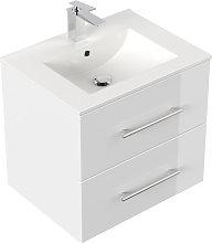 Mobile bagno Firenze 60 bianco lucido