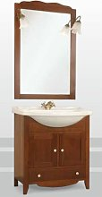 Mobile bagno fnitura tinta noce linea siena 75x50
