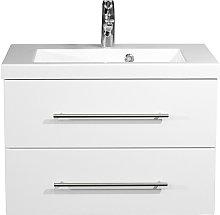Mobile bagno Infinity 700 bianco lucido