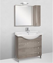Mobile bagno linea light 85 cm - global trade -