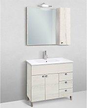 Mobile bagno linea light 91 cm - global trade -