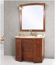 Mobile bagno linea roma 108x60 cm - global trade -