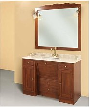 Mobile bagno linea roma 130x58 cm - global trade -