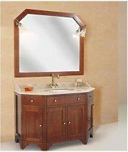 Mobile bagno linea roma scantonato 127x60 cm -