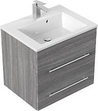 Mobile bagno Milet rovere grigio
