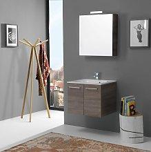 Mobile Bagno Moderno 60 Cm Con Specchio