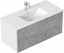 Mobile bagno SANTINI 100 grigio cemento