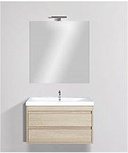 Mobile bagno sospeso linea miniclever 80 cm -