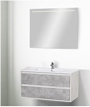 Mobile bagno sospeso linea miniclever 91 cm -