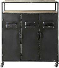 Mobile bar color grigio antracite stile