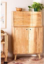 Mobile bar in legno Arlan Legno Naturale Sklum