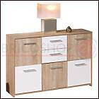 Mobile Credenza Buffet Moderna Bianco con Ante