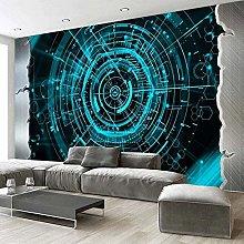 Mobile da parete Mobile Geometrico Ristorante Blu
