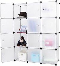 Mobile modulare Quadrato 12 Scomparti Cubo Armadio