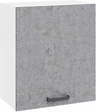 Mobile pensile per cucina componibile cemento con