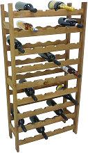 Mobile porta bottiglie cantinetta vino in legno