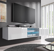 Mobile TV modello Tibi (160 cm) bianco