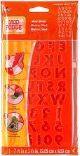 Mod Podge - Stampo con Lettere dell'alfabeto,