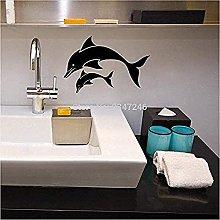 Moda Delfino Impermeabile Bagno Decorazioni Parete