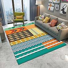 Moda tappeto colorato per soggiorno grande tappeto