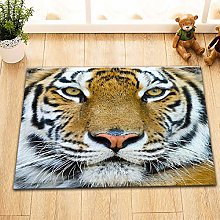 Modello di faccia di tigre creativa Tappetini da