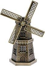 Modello Statuetta Di Mulino A Vento Olandese