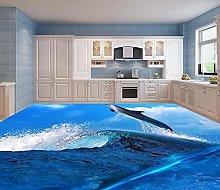 Modern Custom 3D murale per pavimenti Underwater
