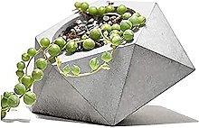 Moderno Geometrica Cemento Fioriera,Mini Conerete