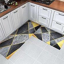 Moderno geometrico stampato ingresso zerbino
