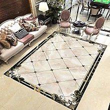 Moderno semplice marmo geometrico pavimento carta