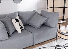 Moduli per divani in tessuto Kata Gris & Palo