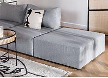 Moduli per divani in tessuto Kata Gris & Pouf Sklum
