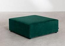 Moduli per divani in velluto Kata Verde Jungle &